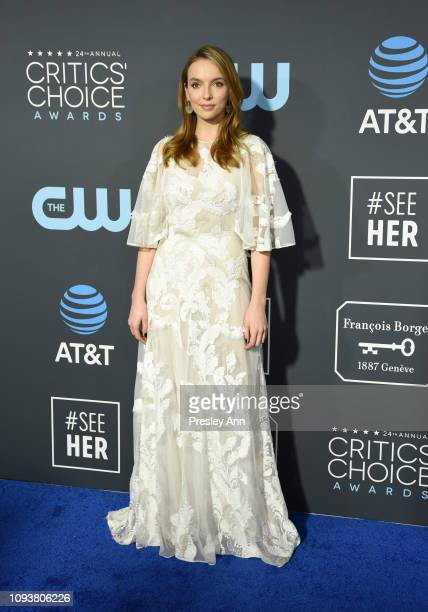 Jodie Comer at The 24th Annual Critics' Choice Awards at Barker Hangar on January 13, 2019 in Santa Monica, California.