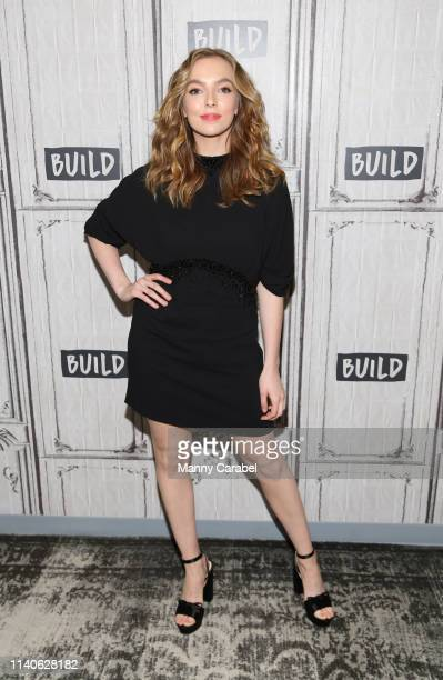 Jodie Comer attends Build Series to discuss her role on the series 'Killing Eve' at Build Studio on April 05 2019 in New York City