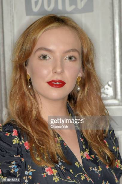 Jodie Comer attends Build series to discuss Killing Eve at Build Studio on April 4 2018 in New York City