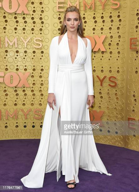 Jodie Comer attends the 71st Emmy Awards at Microsoft Theater on September 22 2019 in Los Angeles California