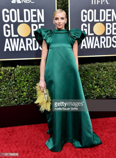 Jodie Comer attends the 77th Annual Golden Globe Awards at The Beverly Hilton Hotel on January 05 2020 in Beverly Hills California