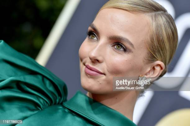 Jodie Comer attends the 77th Annual Golden Globe Awards at The Beverly Hilton Hotel on January 05, 2020 in Beverly Hills, California.