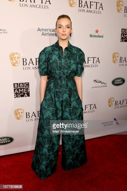 Jodie Comer attends The BAFTA Los Angeles Tea Party at Four Seasons Hotel Los Angeles at Beverly Hills on January 5 2019 in Los Angeles California
