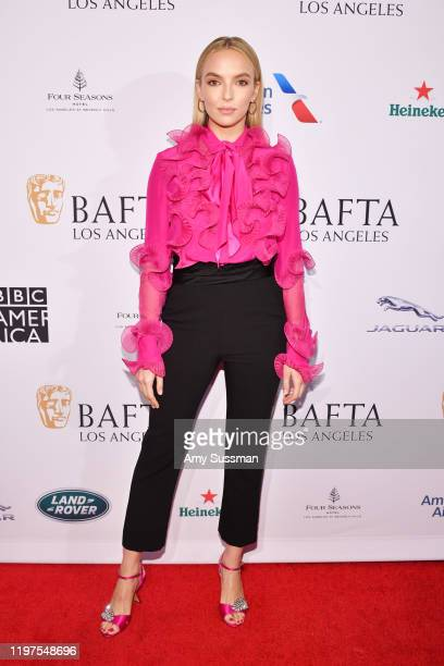 Jodie Comer attends The BAFTA Los Angeles Tea Party at Four Seasons Hotel Los Angeles at Beverly Hills on January 04 2020 in Los Angeles California