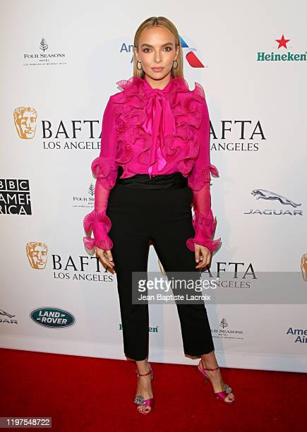 Jodie Comer attends The BAFTA Los Angeles Tea Party at Four Seasons Hotel Los Angeles at Beverly Hills on January 04, 2020 in Los Angeles, California.