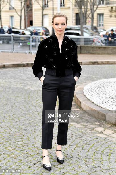 Jodie Comer attends the Miu Miu show as part of the Paris Fashion Week Womenswear Fall/Winter 2019/2020 on March 05 2019 in Paris France
