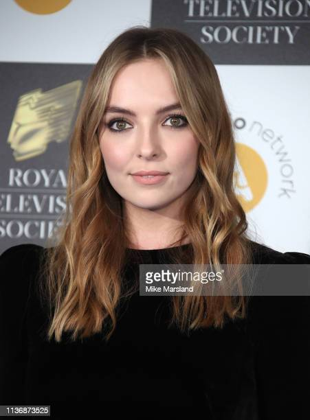 Jodie Comer attends the Royal Television Society Programme Awards at Grosvenor House on March 19 2019 in London England