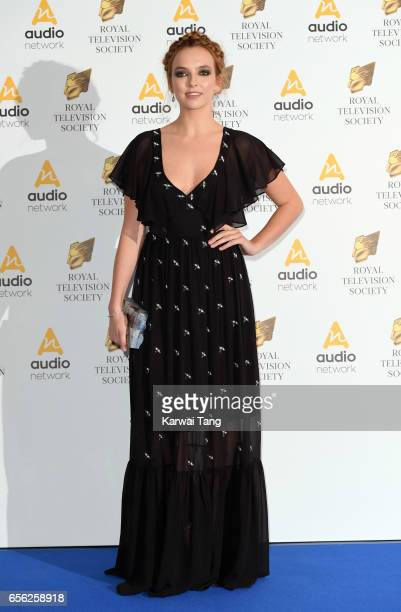 Jodie Comer attends the Royal Television Society Programme Awards at the Grosvenor House on March 21, 2017 in London, United Kingdom.