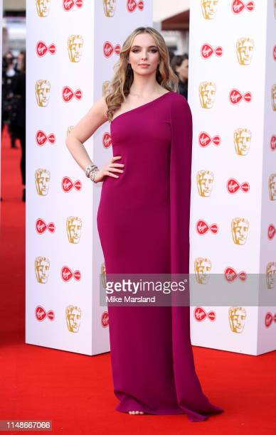 Jodie Comer attends the Virgin Media British Academy Television Awards 2019 at The Royal Festival Hall on May 12 2019 in London England