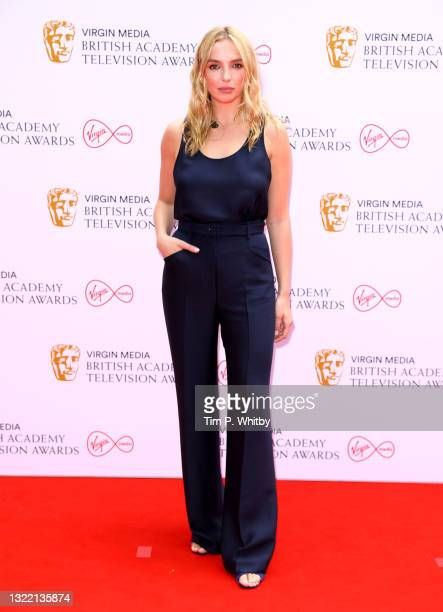 Jodie Comer attends the Virgin Media British Academy Television Awards 2021 at Television Centre on June 06, 2021 in London, England.