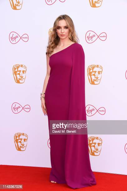 Jodie Comer attends the Virgin Media British Academy Television Awards at The Royal Festival Hall on May 12 2019 in London England