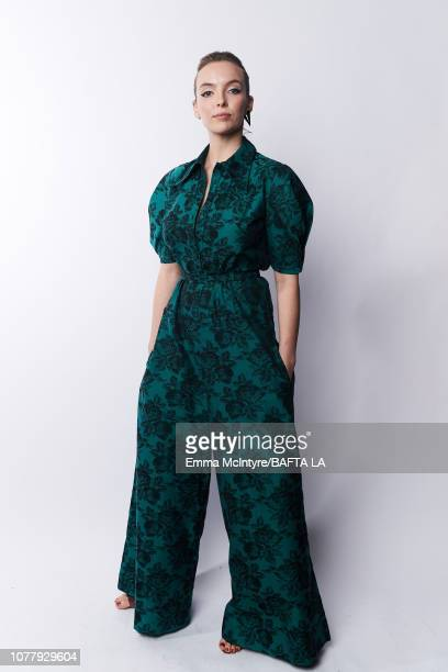 Jodie Comer poses for a portrait at The BAFTA Tea Party on January 5 2019 in Beverly Hills California