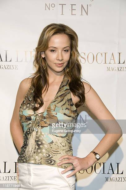 Jodie Fanelli attends The Social Life Magazine June Release Hosted By Whitney Port By SARAR And Peroni May 24 2008 in Water Mill New York