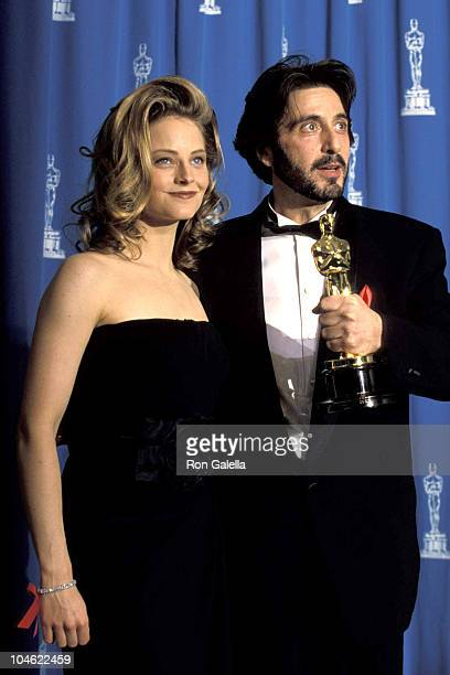 Jodie Foster and Al Pacino and 65th Annual Academy Awards