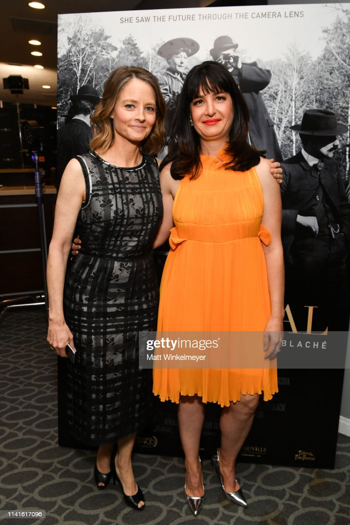 Jodie Foster and Pamela B  Green attend the Zeitgeist Films and Kino