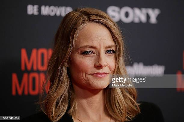 Jodie Foster arrives ahead of the Money Monster Australian Premiere at Event Cinemas George Street on May 30 2016 in Sydney Australia
