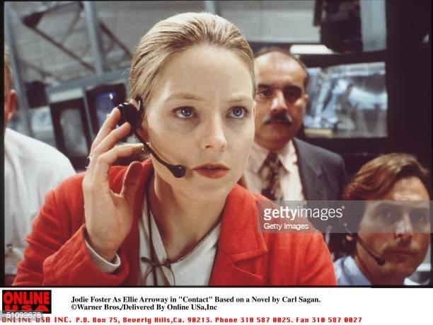 Jodie Foster As Ellie Arroway In 'Contact' Based On The Best Seller By Carl Sagan