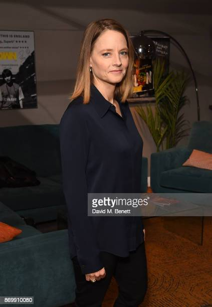 Jodie Foster attends a QA during a special screening of 'The Silence Of The Lambs' at The BFI Southbank on November 3 2017 in London England