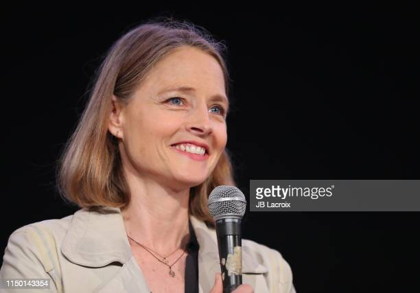 """Jodie Foster attends a special screening and Q&A of """"Alice Doesn't Live Here Anymore"""" held at the Egyptian Theatre on June 14, 2019 in Los Angeles,..."""