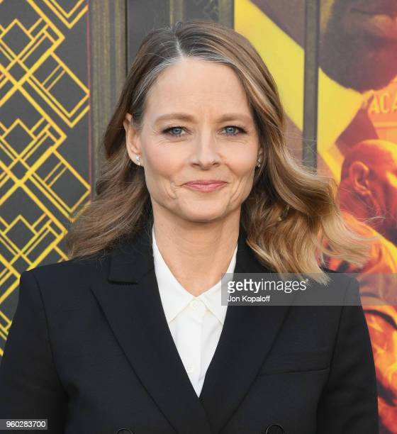Jodie Foster attends Global Road Entertainment's Hotel Artemis Premiere at Regency Village Theatre on May 19 2018 in Westwood California