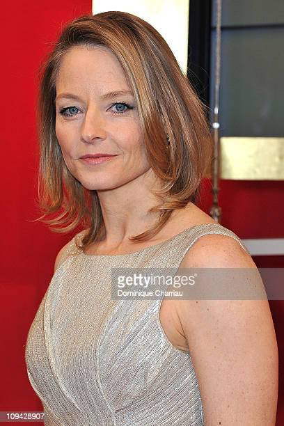 Jodie Foster attends the 36th Cesar Film Awards at Theatre du Chatelet on February 25 2011 in Paris France