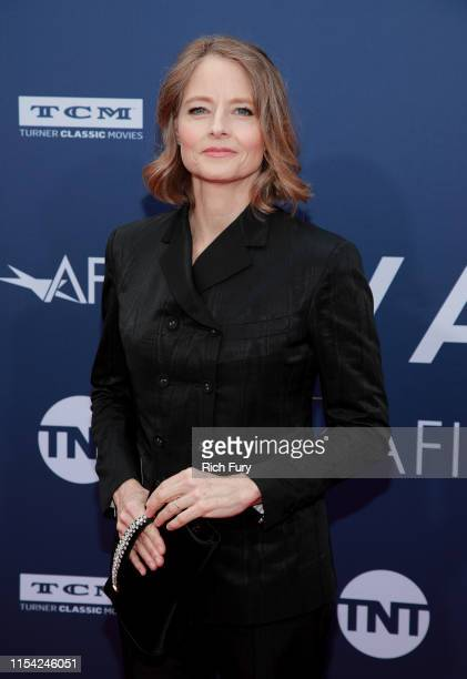 Jodie Foster attends the 47th AFI Life Achievement Award honoring Denzel Washington at Dolby Theatre on June 06, 2019 in Hollywood, California.