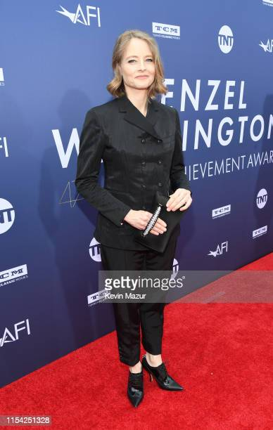 Jodie Foster attends the 47th AFI Life Achievement Award Honoring Denzel Washington at Dolby Theatre on June 06 2019 in Hollywood California 610461