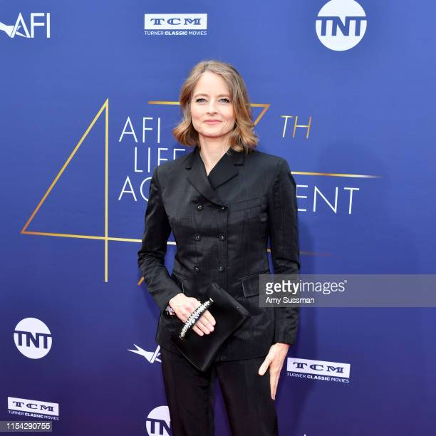 Jodie Foster attends the 47th AFI Life Achievement Award honoring Denzel Washington at Dolby Theatre on June 06, 2019 in Hollywood, California. 610507