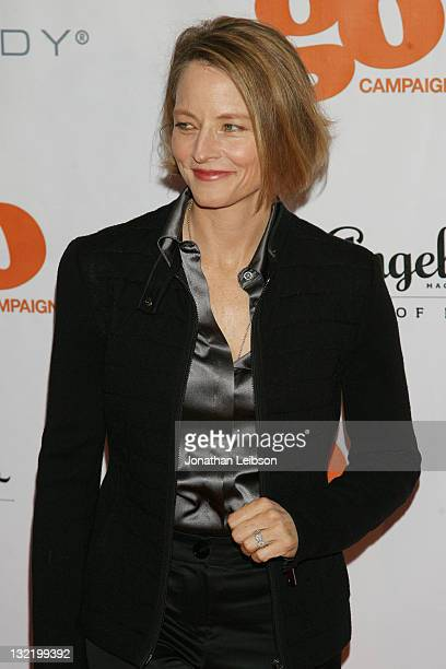 Jodie Foster attends the 4th Annual GO GO Gala at The London Hotel on November 10 2011 in West Hollywood California
