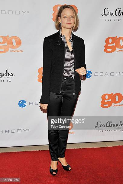 Jodie Foster attends the 4th Annual Go Go Gala for honoree Chris Mburu at The London on November 10 2011 in Los Angeles California