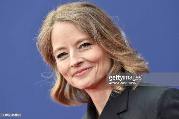 Jodie Foster attends the American Film Institute's 47th Life Achievement Award Gala Tribute to Denzel Washington at Dolby Theatre on June 06, 2019 in...