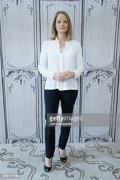 Jodie Foster attends the AOL Build Speaker Series to discuss 'Money Monster' at AOL Build Studios on May 09 2016 in New York New York