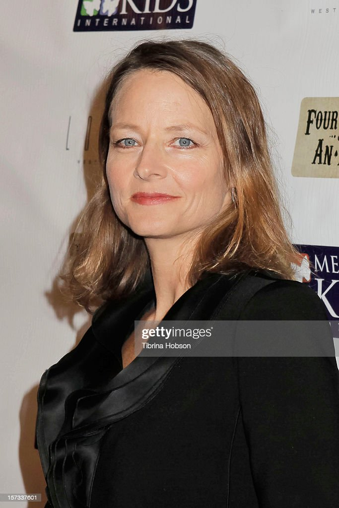 Jodie Foster attends the Mending Kids International celebrity poker tournament at The London Hotel on December 1, 2012 in West Hollywood, California.
