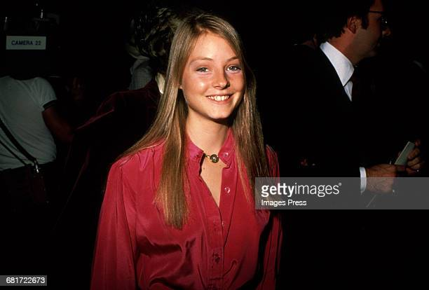 Jodie Foster circa 1981 in New York City.