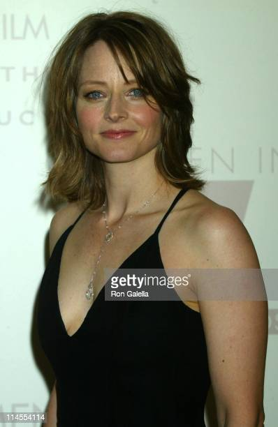 Jodie Foster during 2003 Women In Film Crystal + Lucy Awards Sponsored by Marie Claire - Arrivals at Century Plaza Hotel in Century City, California,...