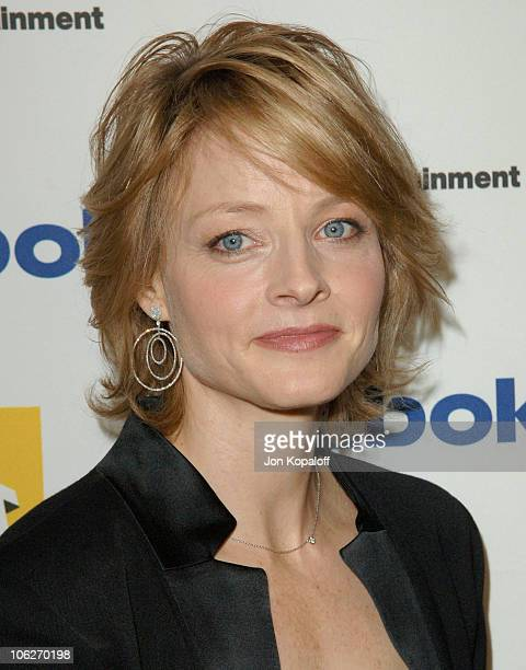 Jodie Foster during 9th Annual Hollywood Film Festival Awards Gala Ceremony Backstage at Beverly Hilton Hotel in Beverly Hills California United...