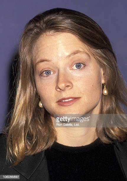 Jodie Foster during LAFTA Awards at Laemmle Royal Theater in Los Angeles California United States