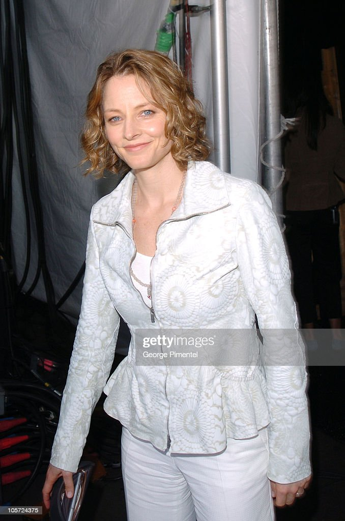 Jodie Foster during The 20th Annual IFP Independent Spirit Awards - Backstage in Santa Monica, California, United States.