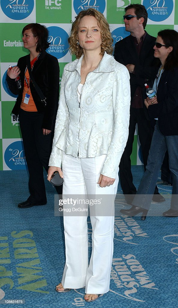 Jodie Foster during The 20th Annual IFP Independent Spirit Awards - Arrivals in Santa Monica, California, United States.