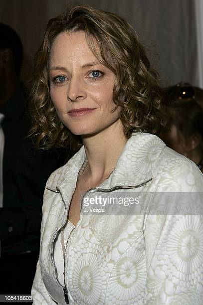 Jodie Foster during The 20th Annual IFP Independent Spirit Awards - Green Room in Santa Monica, California, United States.