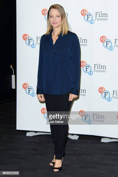 Jodie Foster during 'The Silence Of The Lambs' QA at BFI Southbank on November 3 2017 in London England