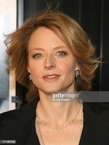 """Jodie Foster during The World Premiere of the """"Inside Man"""" at Ziegfeld Theatre in New York, New York, United States."""