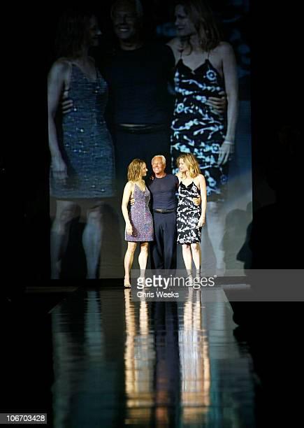 Jodie Foster Giorgio Armani and Michelle Pfeiffer