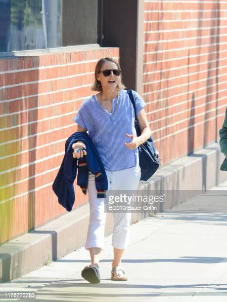Jodie Foster is seen on October 28, 2019 in Los Angeles, California.