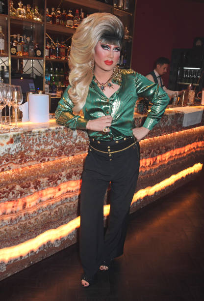 GBR: London Fashion Week 'Opening Night' Party At The Windmill, Soho - LFW September 2021