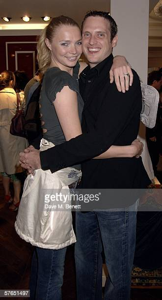 Jodie Kidd and Aidan Butler attend the launch party of Diesel's new store on Bond Street at Diesel Bond Street on May 18 2006 London England