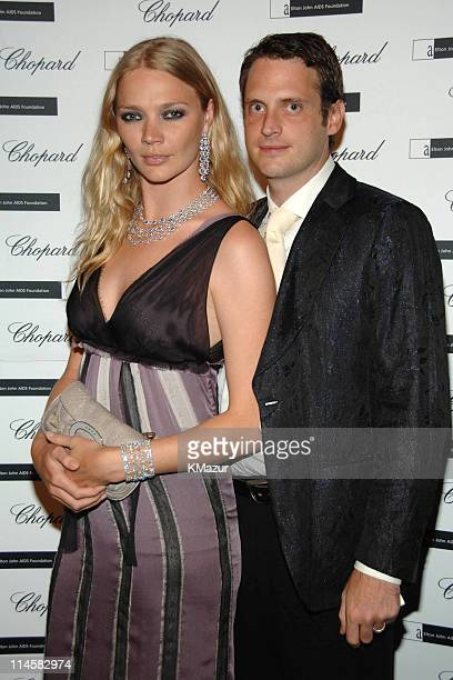 Jodie Kidd and Aidan Butler during The 8th Annual White Tie and Tiara Ball to Benefit the Elton John AIDS Foundation in Association with Chopard...