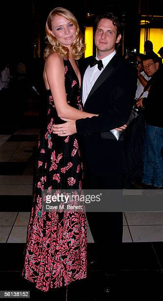 Jodie Kidd and her husband Aidan Butler arrive at the British Fashion Awards at the British Fashion Awards at the Victoria Albert Museum on November...