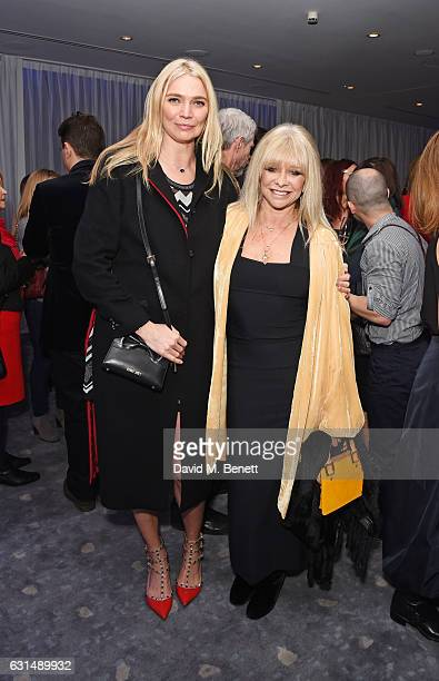 Jodie Kidd and Jo Wood attend a drinks reception ahead of the press night performance of The English National Ballet's 'Giselle' at St Martins Lane...