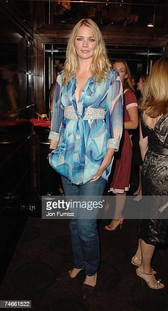 Jodie Kidd at the Dorchester Hotel in London United Kingdom